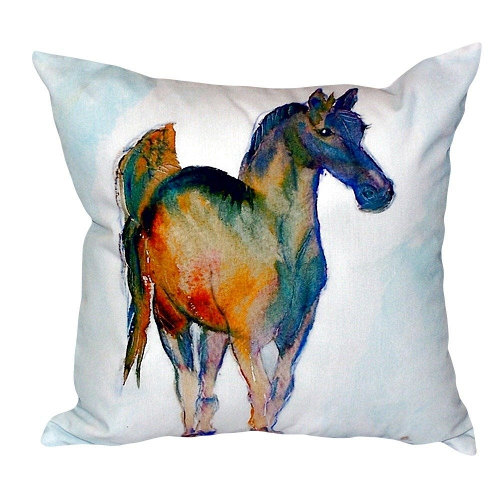 Colt Indoor/Outdoor Throw Pillow