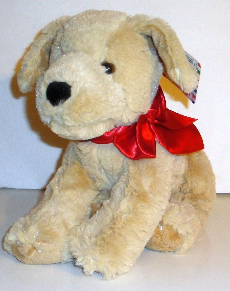 Melissa Doug Sunny Yellow Lab Plush Puppy Dog 10 Princess