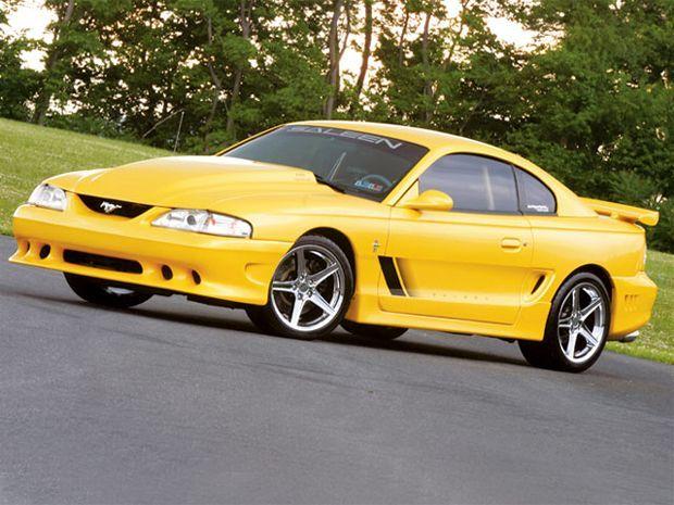 Mustang Sn 95 351 M5lp 0611 07 Z 1995 Ford Mustang Gt Passenger