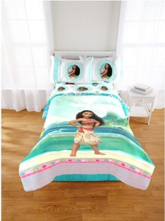 New Kids Disney Moana Bed In A Bag, Moana Queen Size Bed Sheets