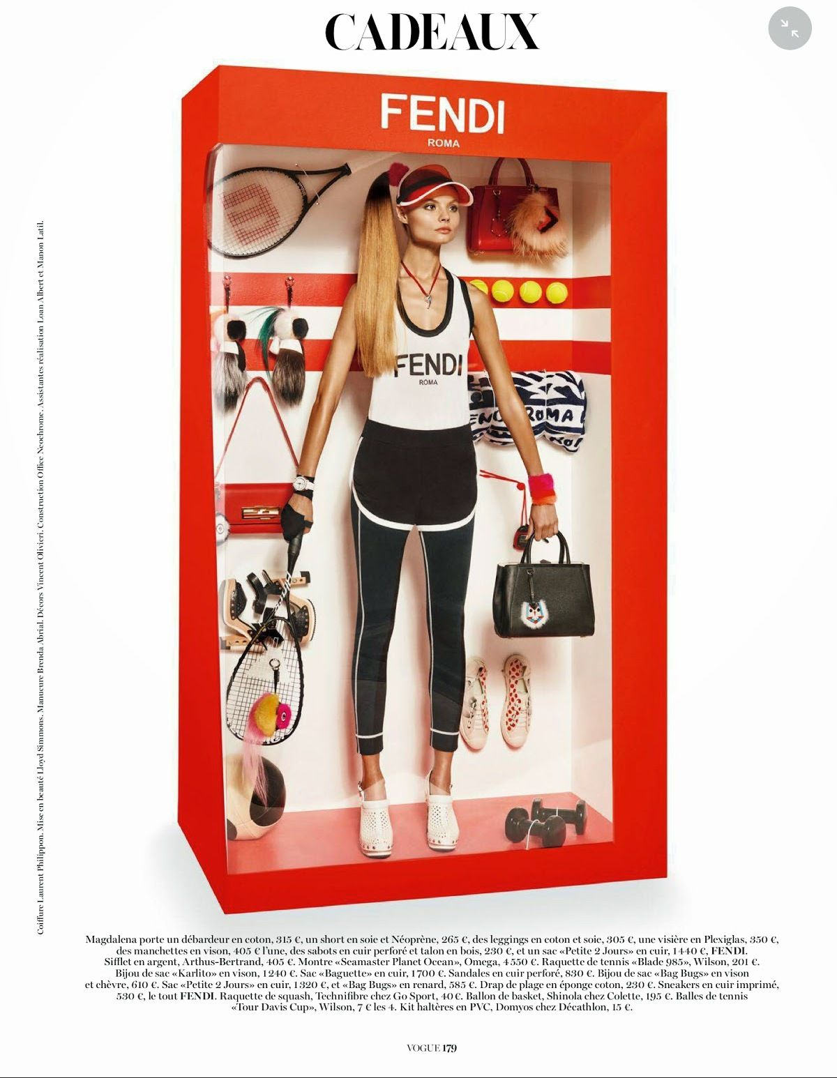 Vogue Paris Dezembro 2014 | Elizabeth Erm e Magdalena Frackowiak por Giampaolo Sgura   [Editorial]