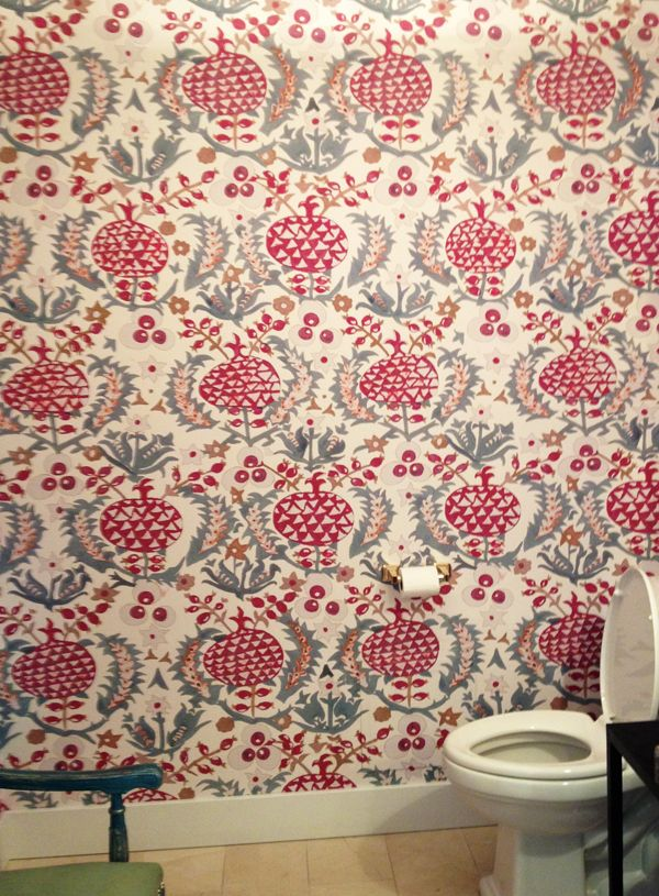 Idarica Gazzoni S Pomegranate Wallpaper Wallpaper Design Pattern