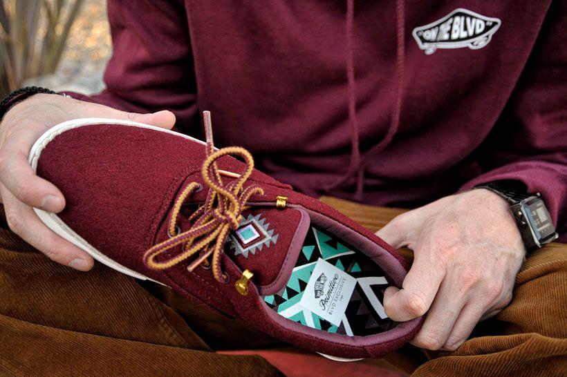 zapatillas vans santa fe