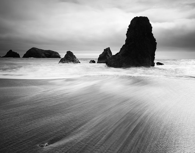 Sands of Time by Chris Delle, via Flickr, Rodeo Beach, Marine City, California