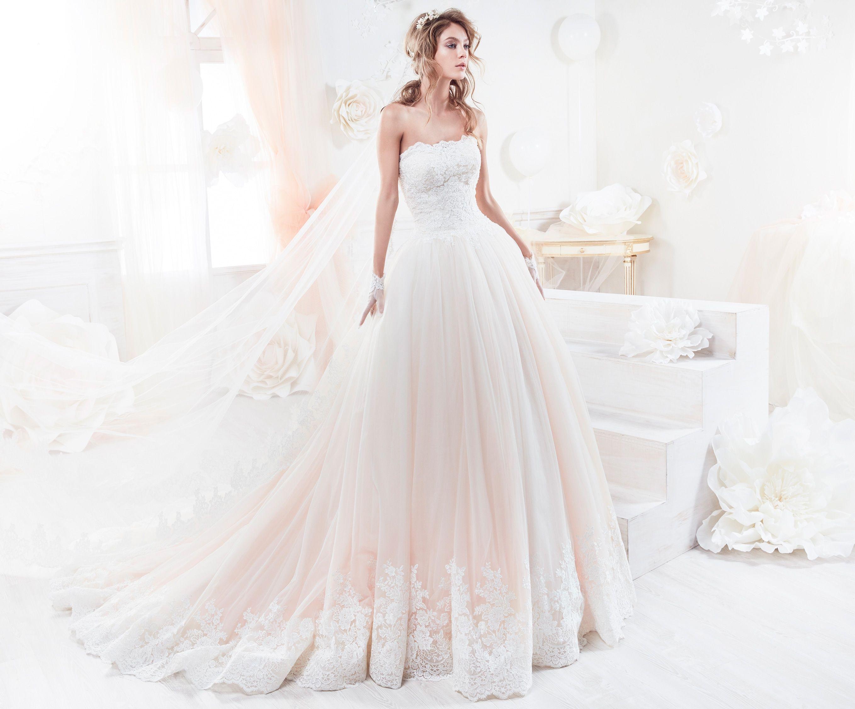 Collezione 2018 Abiti Da Sposa.Moda Sposa 2018 Collezione Colet Coab18300 Abito Da Sposa