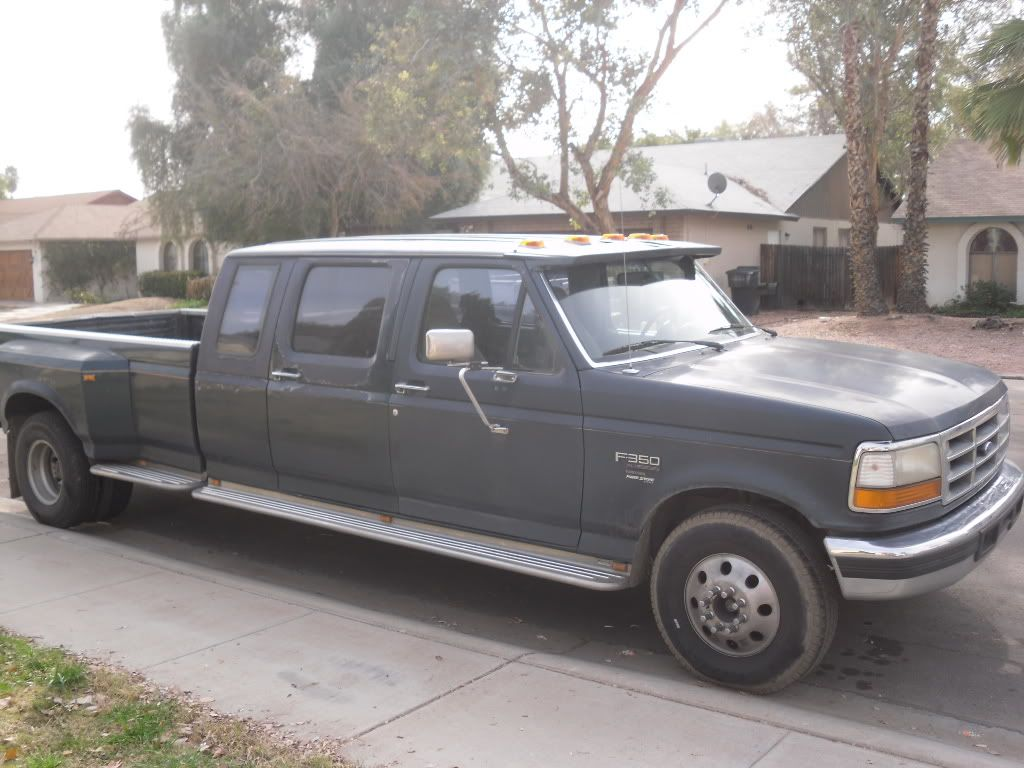 small resolution of centurion conversion 1994 f350 dually diesel 7 3l crew xcab or 9 passenger