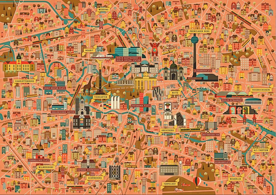 Dc8cd30660bf2dc44c190b2e16c6d37e Png City Maps Illustration Berlin Berlin City