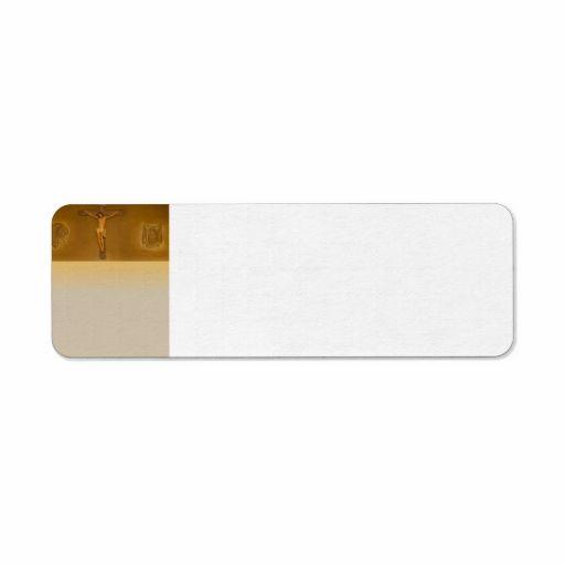 4080 Divine Custom Return Address Label