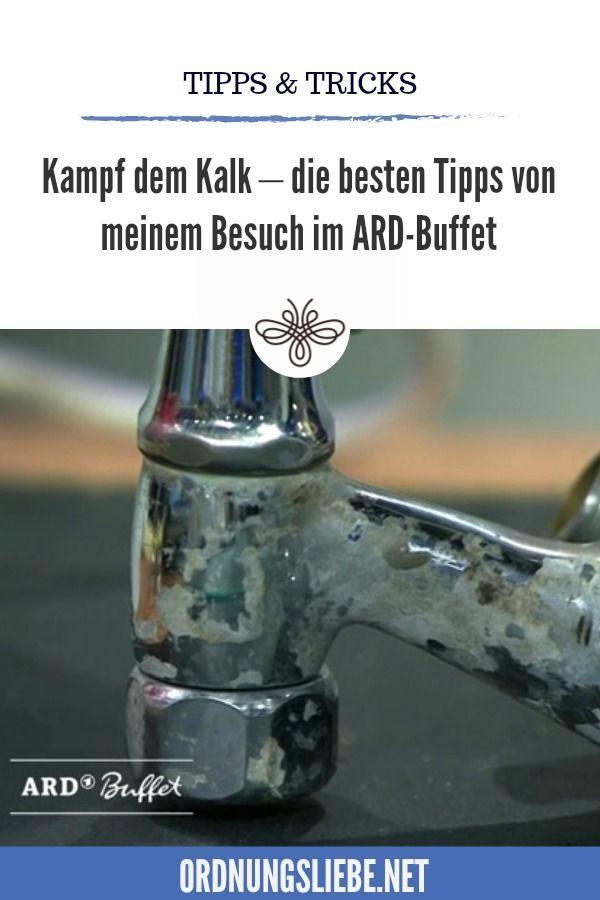 Kampf Dem Kalk Mein Besuch Im Ard Buffet Vom 27 1 2017 Ard