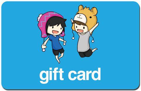 Dan And Phil U S Shop Gift Card Daniel And Phil Dan