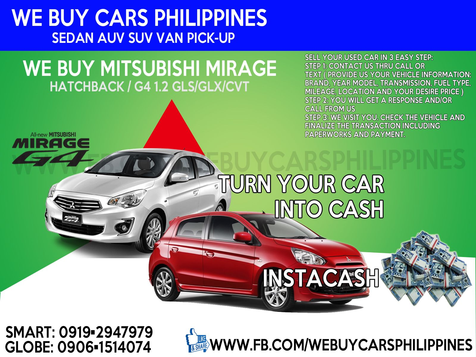 We Buy Used Mitsubishi Mirage Philippines Mirage Glx 1 2 Mt Mirage Glx 1 2 Cvt Mirage Gls 1 2 Mt Mir Mitsubishi Mirage Car For Teens Subaru Outback For Sale