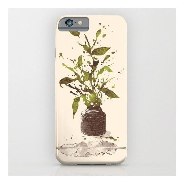 A Writer's Ink iPhone 6s Case ($35) ❤ liked on Polyvore featuring accessories, tech accessories and iphone & ipod cases