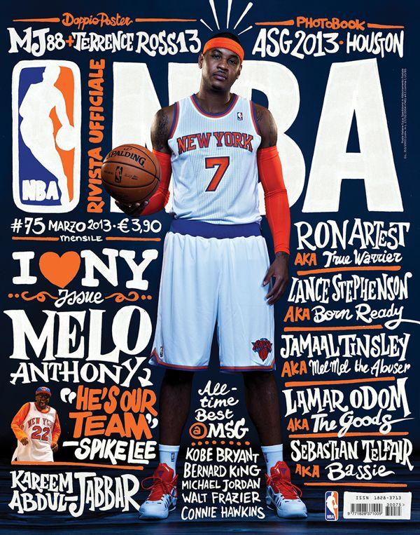Sports / Rivista NBA / Covers 2012 13 on Behance | Sports
