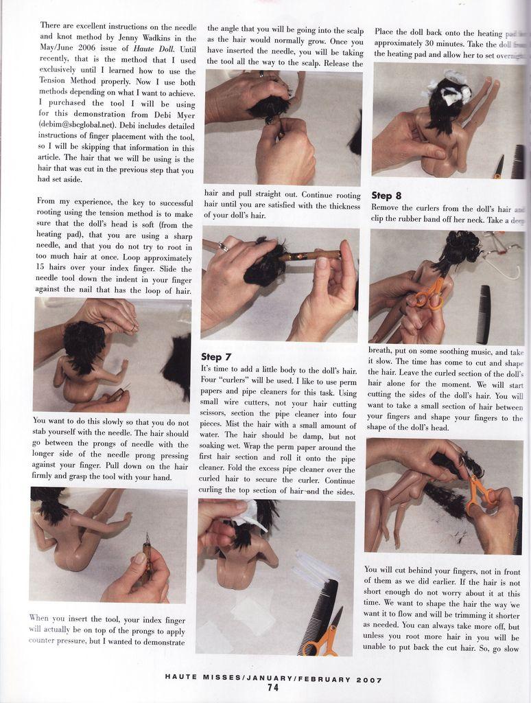 Shortcut 0003 Doll Hair Doll Wigs Fashion Dolls