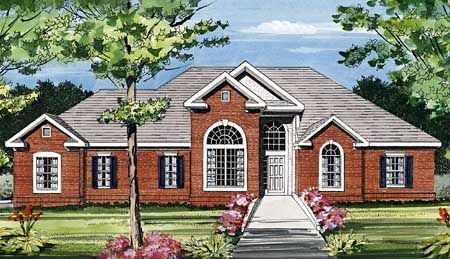 Featured House Plan BHG 3803