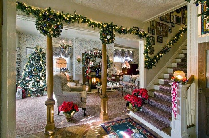 wie man ein zimmer f r weihnachten schm ckt 50 ideen. Black Bedroom Furniture Sets. Home Design Ideas