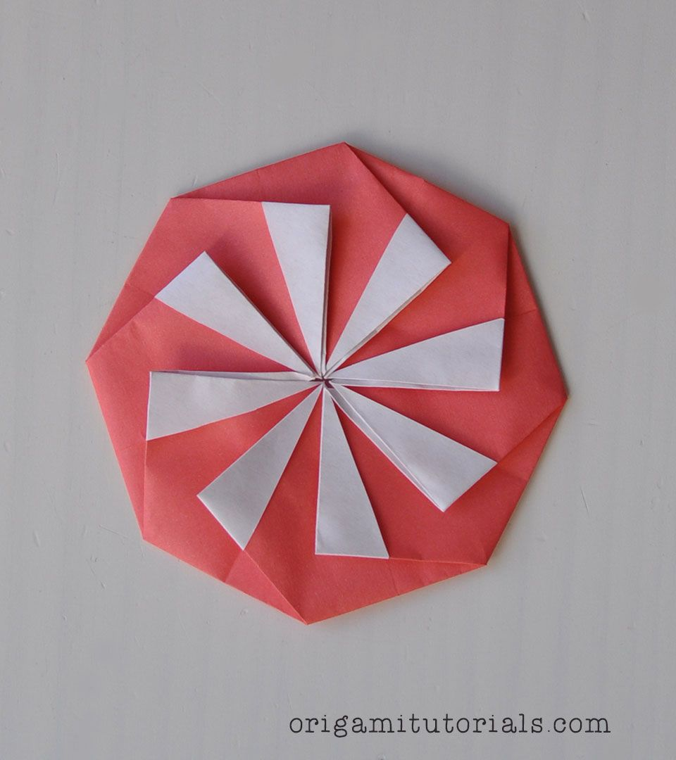 Origami Eight Point Tato Tutorial Origami Box Geometric Origami Origami Tutorial