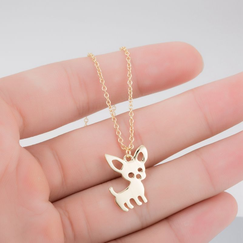 collier femme chihuahua