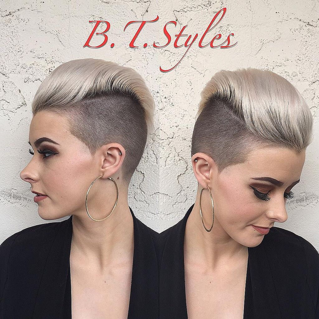Btyles hair pinterest undercut haircuts and shaved sides