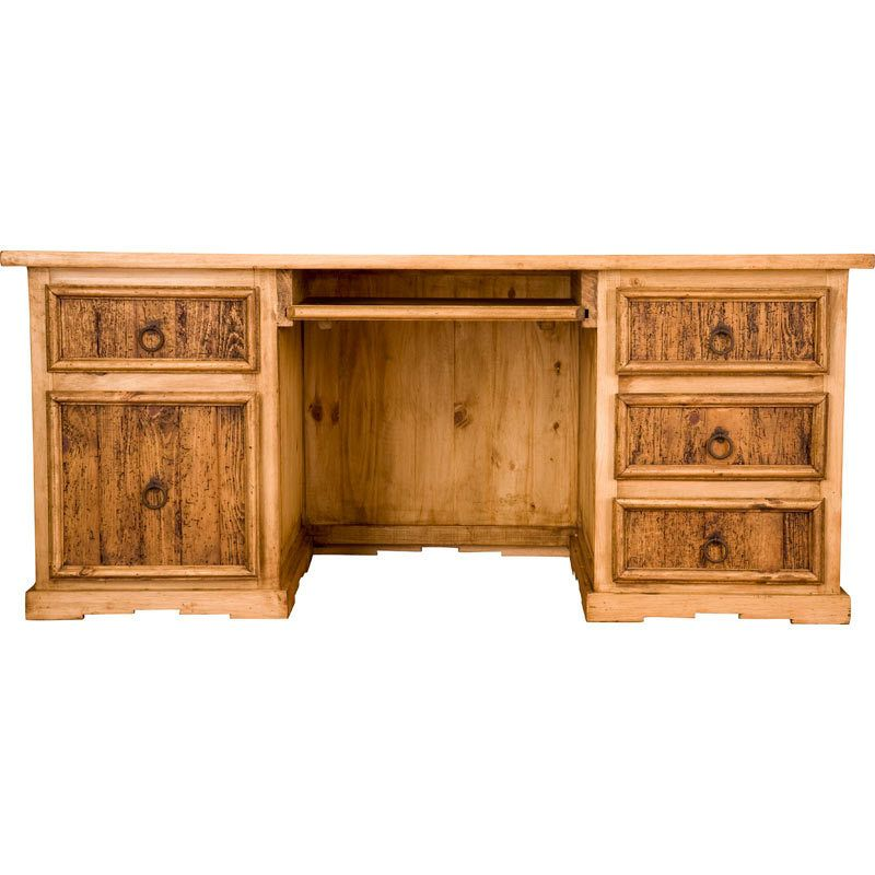pine office desk. Rustic Executive Office Desk Item # NRS-ESC006K Pine I