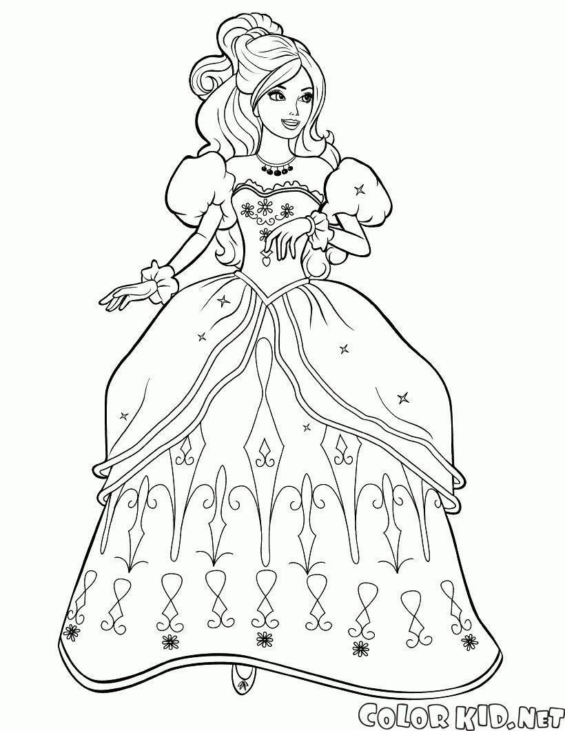Pin By Renata On Barbie Coloring Barbie Coloring Pages Mermaid Coloring Pages Princess Coloring Pages