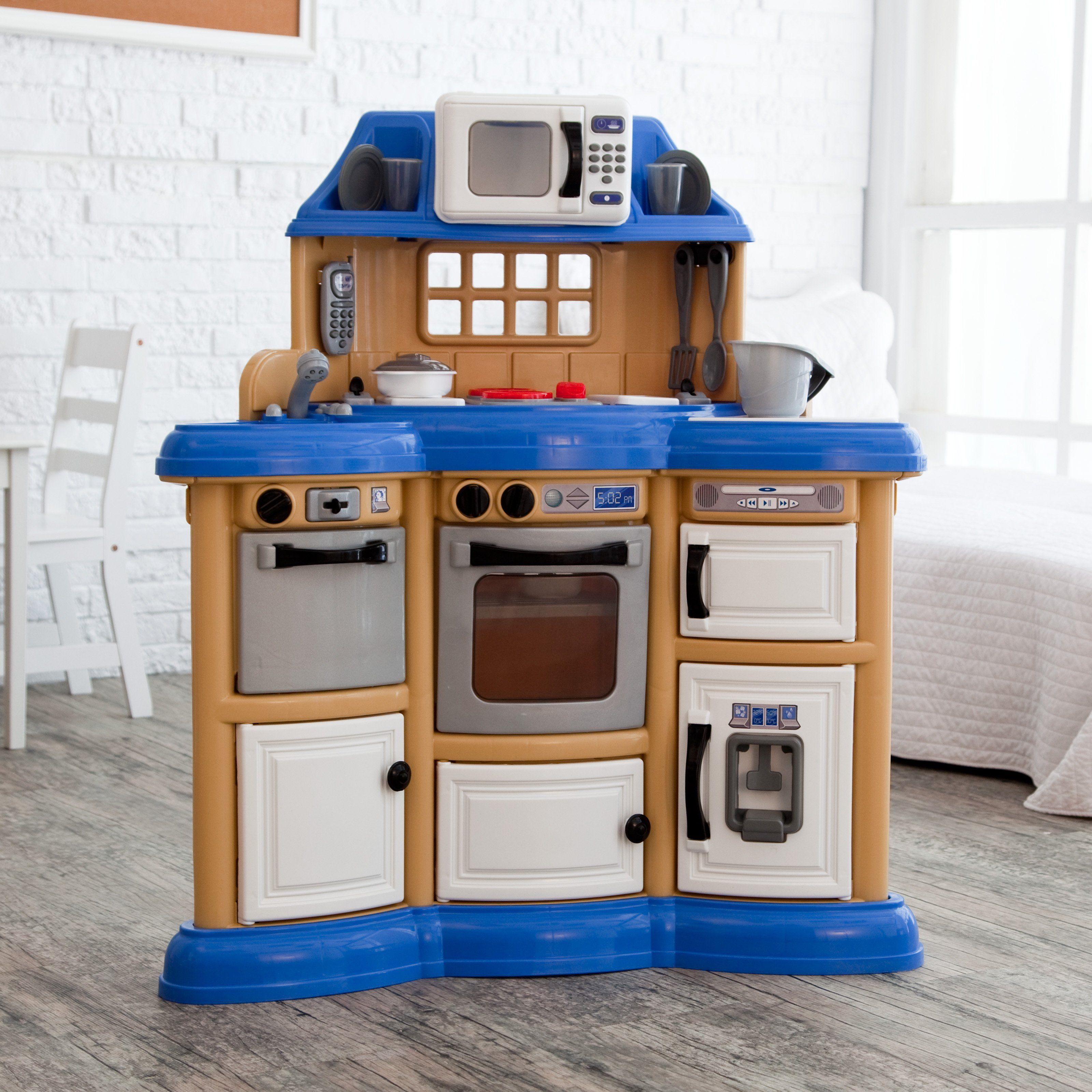 American Plastic Toys Kitchen | American Plastic Toys Homestyle Play Kitchen 57 98 Kid