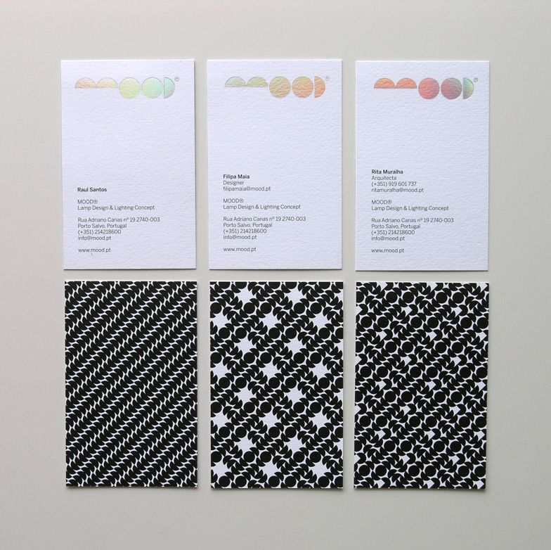 MOOD identity / by José Mendes at MAGA | Design: Business Cards ...