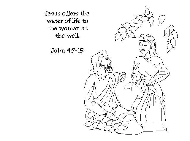 John 4:1-26: Jesus Met a Samaritan Woman; Jesus and the Samaritan ...