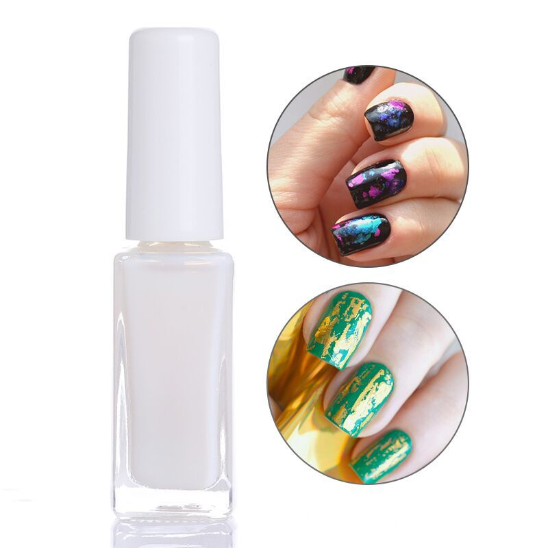 10ml clear nail glue stary for nail paper foils transfer sticker decoration manicure nail art tool diy