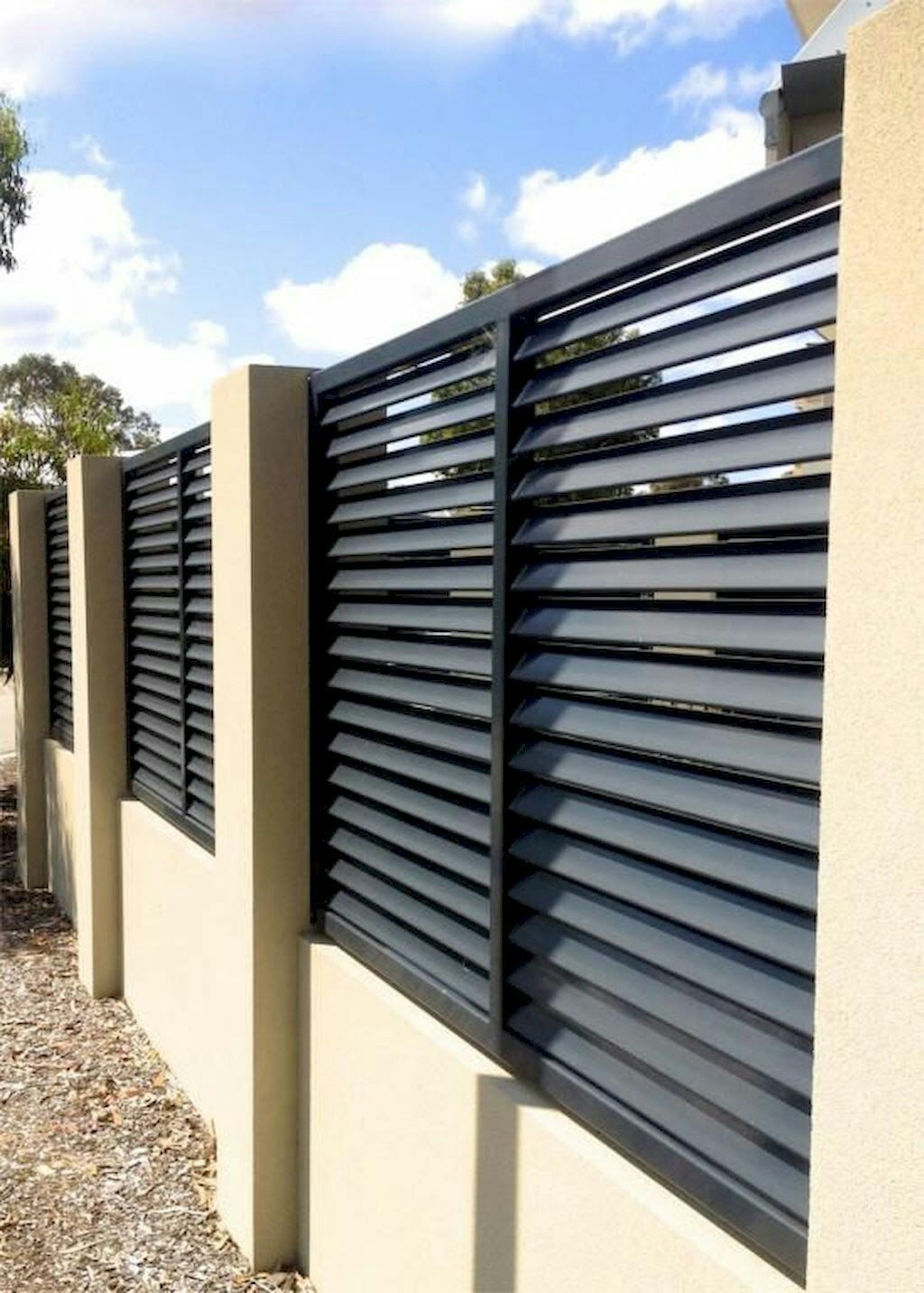 الفخامه Modern Fence Design Diy Privacy Fence Privacy Fence Designs