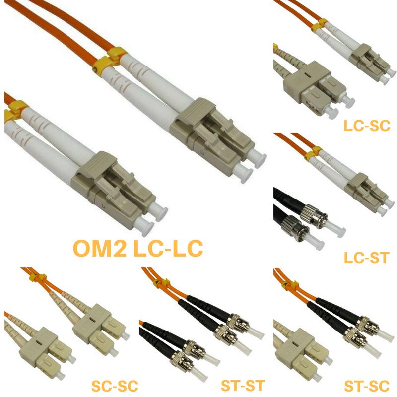 Fibre Patch Cables Om1 62 5 125 0 5 Mtr Fiber Optic Cable Fiber Optic Fiber