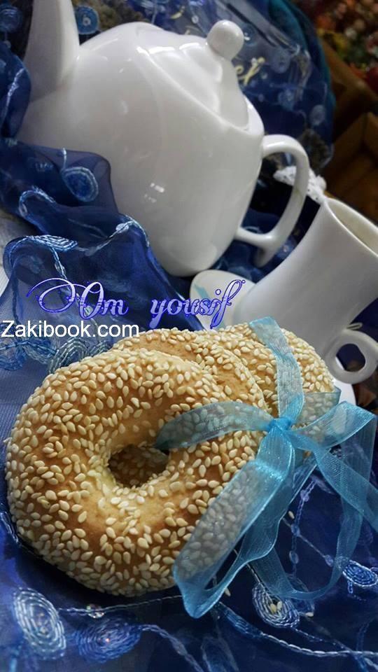 طريقة عمل كعك الشاي الهش زاكي Arabic Dessert Arabic Food Lebanese Desserts