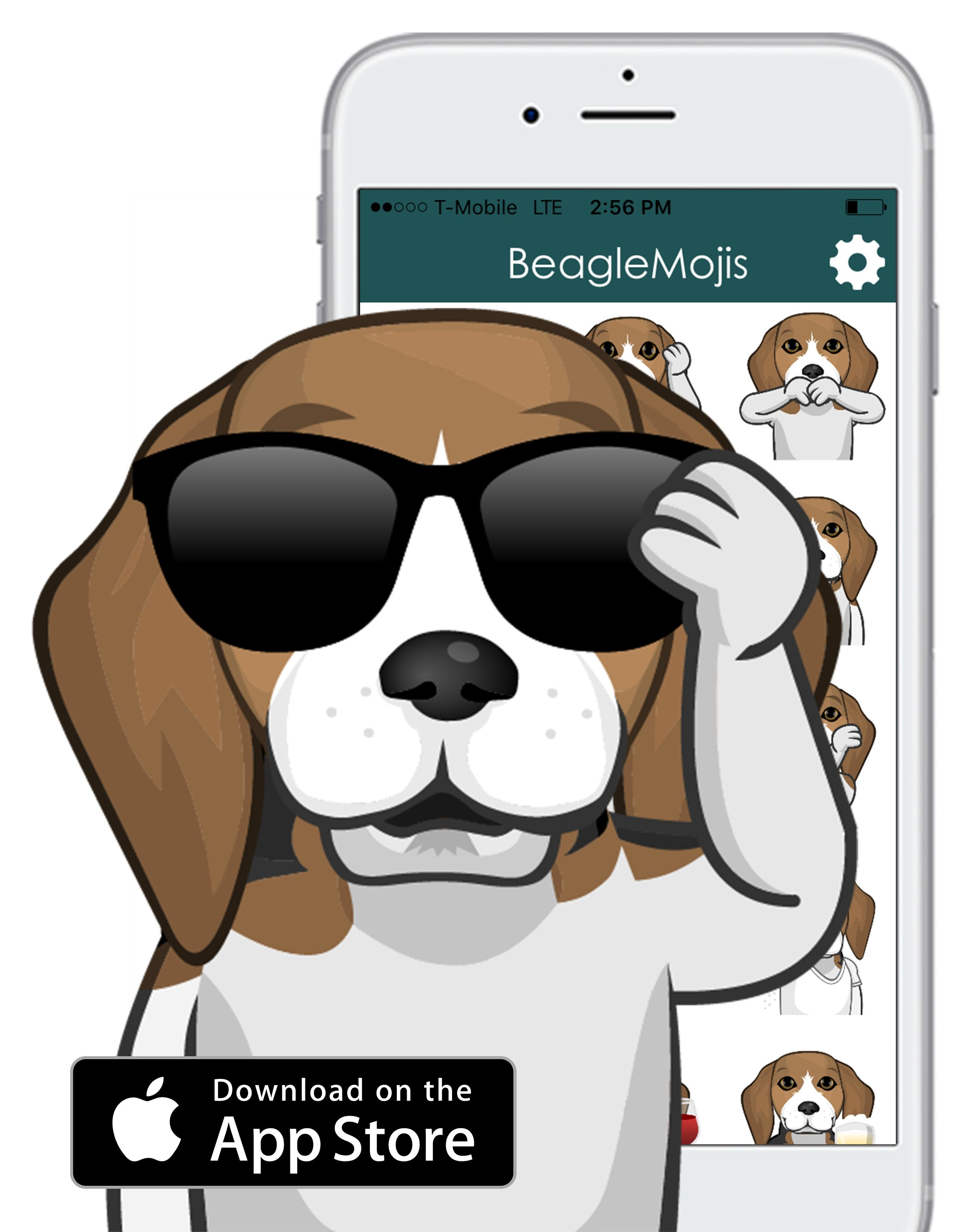 Send Cute Beagle Emojis Wherever You Message Cuteness Overload