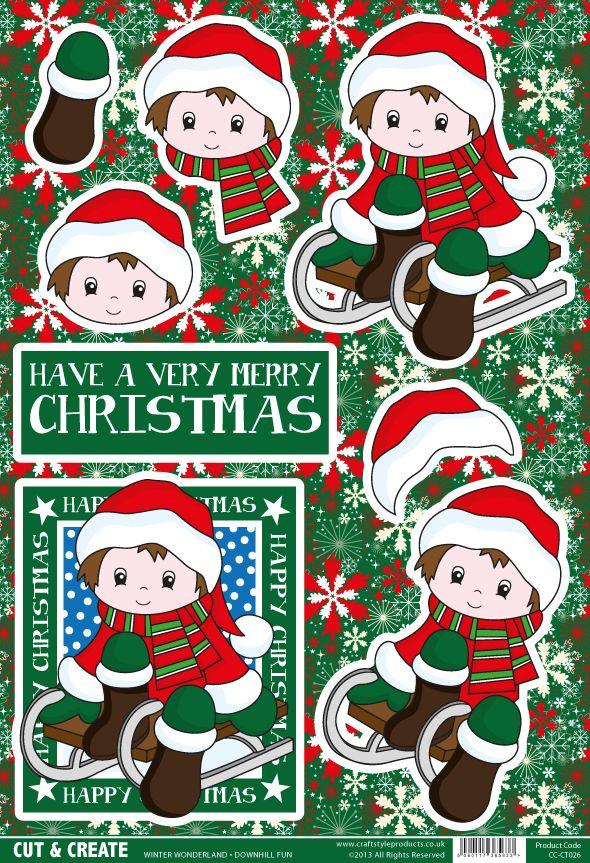 Buzzcraft Christmas Cut Amp Create Winter Wonderland