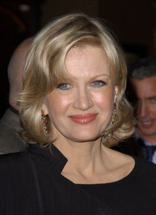 diane sawyer hair styles diane sawyer medium wavy hairstyle for 50s 2692
