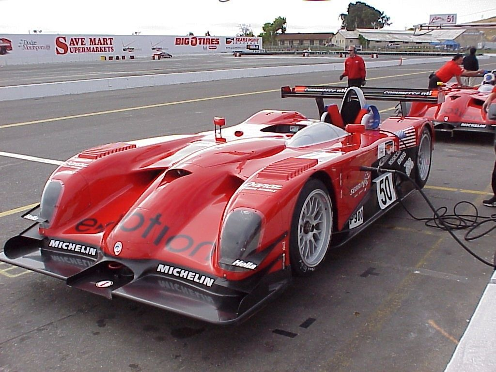 2001 Panoz Roadster S Lmp Sports Car Racing Road Race Car Ford Racing