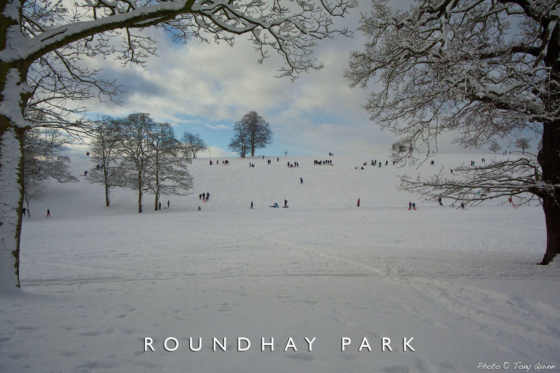 Roundhay Park Leeds - Winter.  http://www.roundhaypark.org.uk