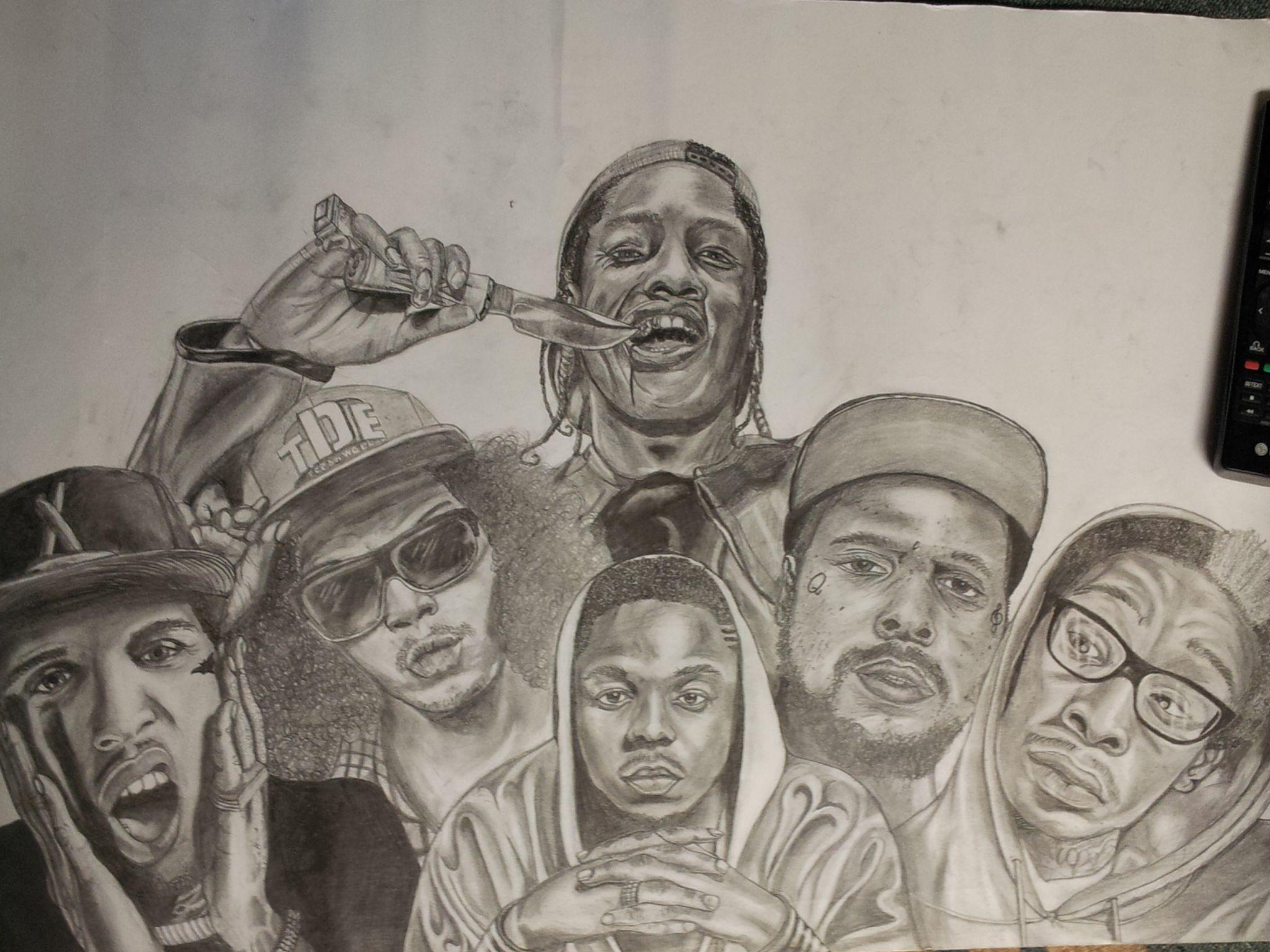 My favorite rappers in 2014 Asap Rocky, Ab-Soul, Kendrick ...