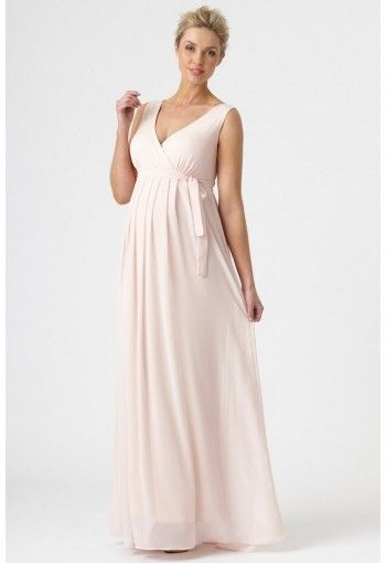 d6d56dce6d2b2 Pea In A Pod PIAP maternity nursing evening dress gown S13625 | Maternity  Clothes Sydney | Shop and Online !shame it only comes in pale pink!