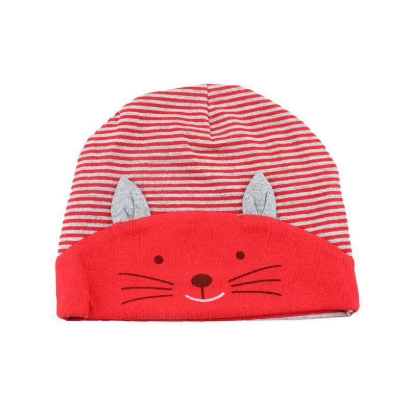 f38fd1f72 0-3 Years Baby Hats Boys Girls Warm Cap Toddler Beanies Fox Triangle ...