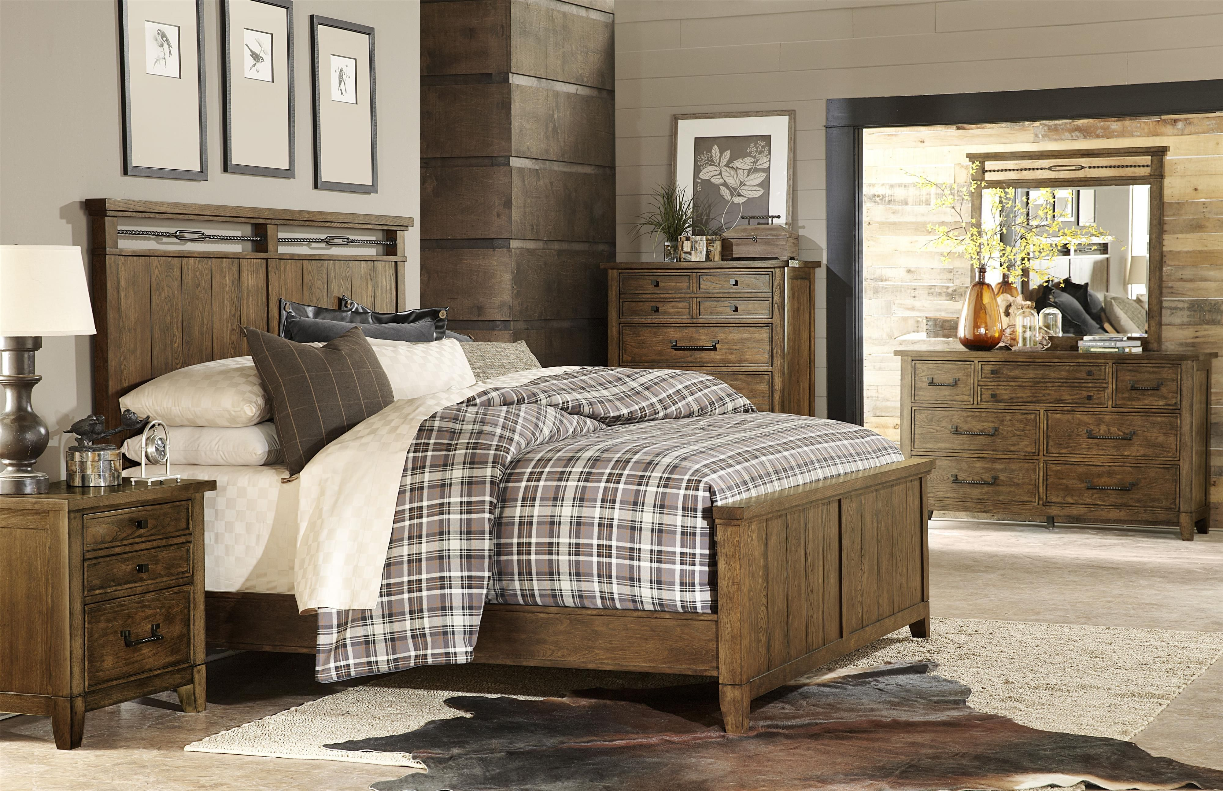 Legacy Classic River Run King Bedroom Group At Belfort Furniture