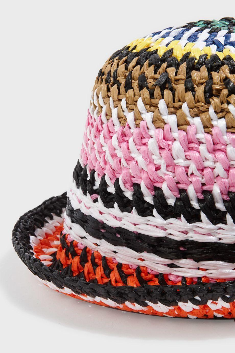 MISSONI Multi Weave Bucket Hat.  missoni    6118660817b