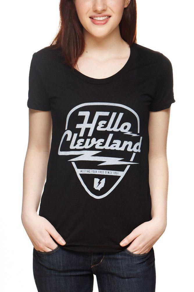Hello Cleveland Womens Crew