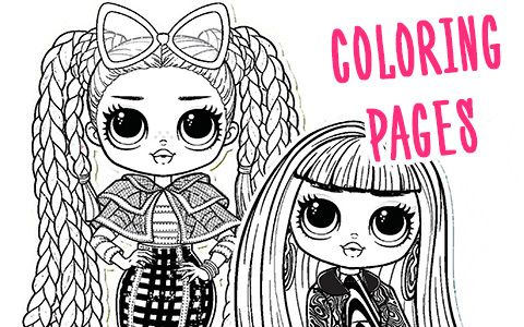 Lol Omg Coloring Pages Coloring Pages Disney Wallpaper Lol