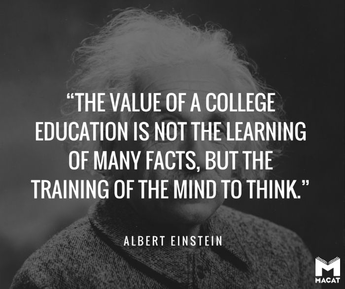 Quotes About Thinking: Einstein-critical-thinking-quote-logo