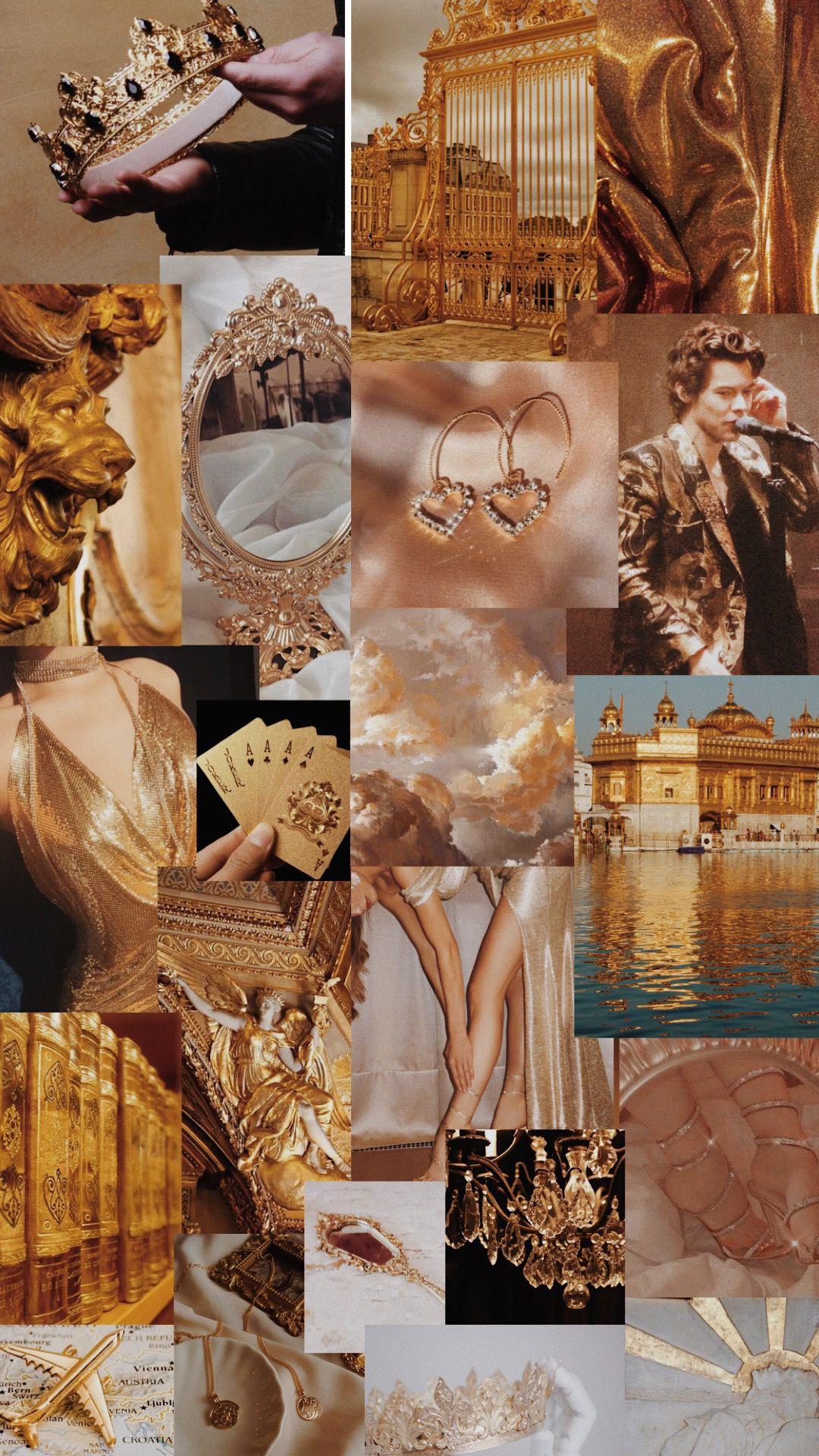 Gold Aesthetic Aesthetic Desktop Wallpaper Golden Wallpaper Gold Wallpaper Aesthetic background wallpaper golden