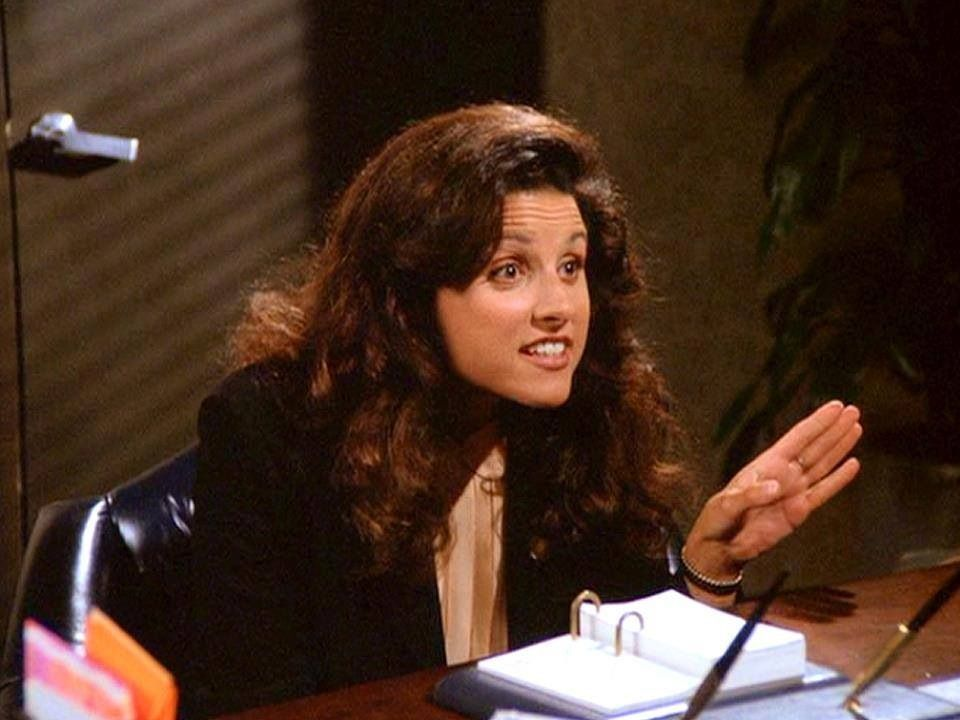 "Seinfeld - (Elaine) ""I don't have grace, I don't want grace, I don't even say grace."""