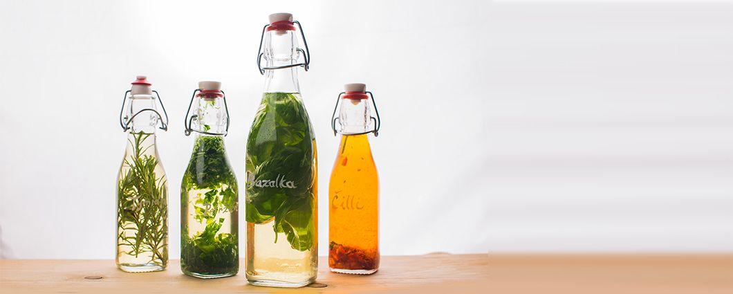 Voňavé a chutné oleje