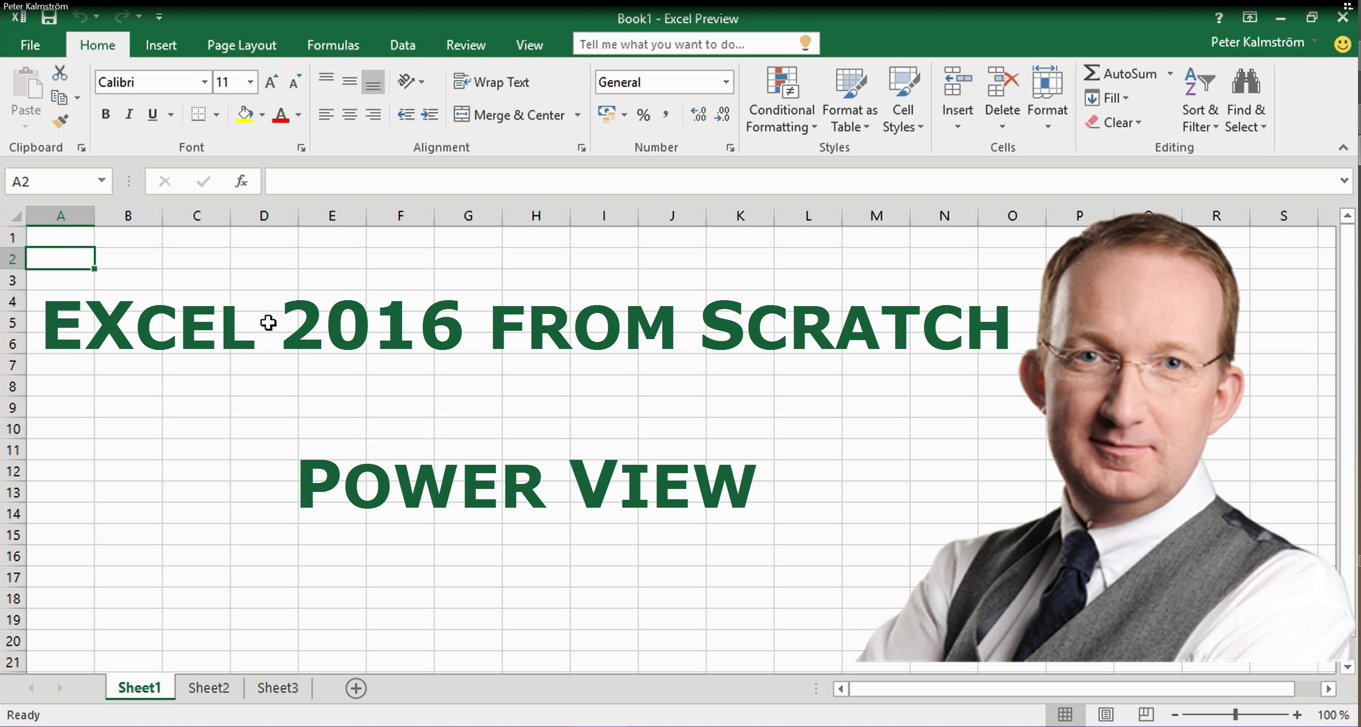Pin en Excel 2016 from Scratch
