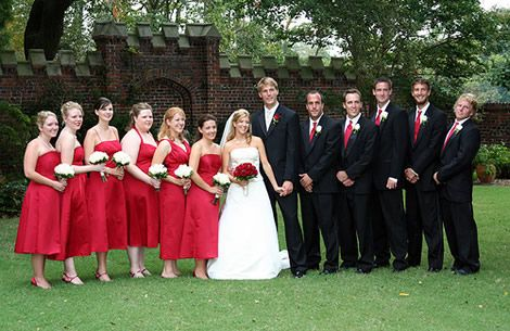 Matching Groom With Your Red Wedding Dress Red Wedding Red Wedding Theme Wedding Dresses